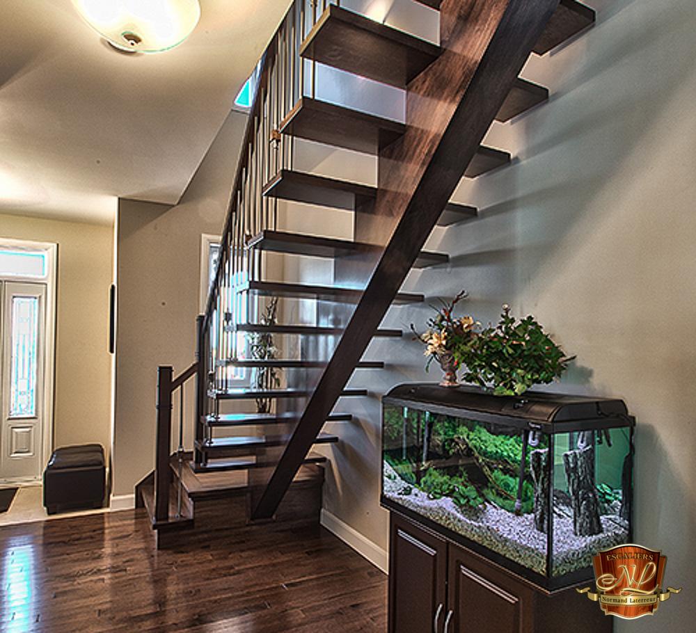 Collection contemporain escaliers normand laterreur - Escalier ouvert ...